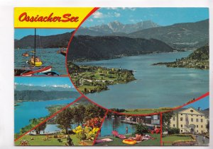 Ossiacher See, Austria, 1988 used Postcard