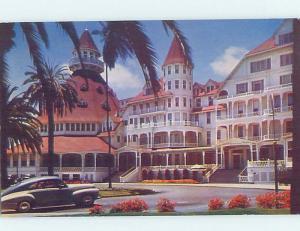 Unused Pre-1980 HOTEL SCENE Coronado - Near San Diego California CA B0075