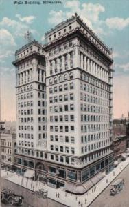 Wisconsin Milwaukee The Wells Building 1919