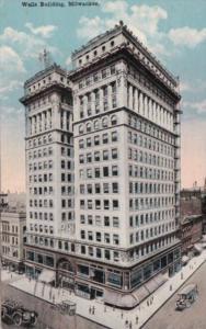 Wisconsin Milwaukee The Wells Building 1919