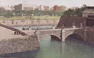 Nijubashi Bridge , Japan , 1940s
