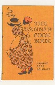 The Savannah Cook Book Harriet Ross Colquitt Postcard