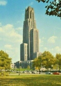Postcard Early View  of Cathedral of Learning, University of Pittsburgh, PA. S1