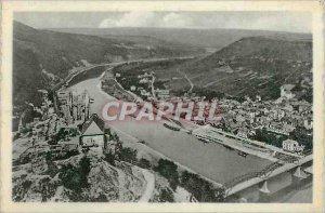 Modern Postcard Traben Trarbach Mosel has to put Ruin Grevenburg