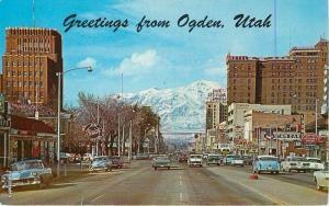 Autos 1950s Ogden Utah Washington Boulevard Standard Chevron Seaich 10065
