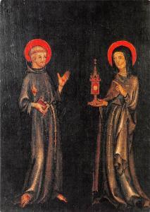 Franziskus und Klara Diptychon in der St. Georg Kirche, Bocholt