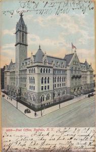 Buffalo, New York - Post Office Building - 1907