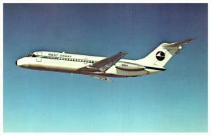 9437 West Coast Airlines McDonnell Douglas DC-9-14