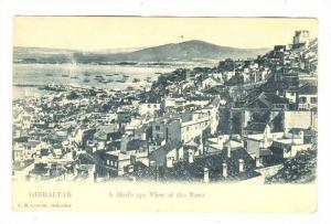 Gibraltar, Birds eye view , 1890s