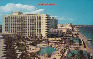 Florida Miami Beach Americana Hotel With Pool