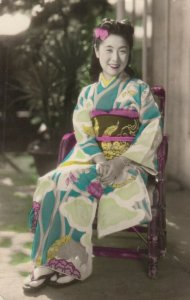 RP: Japan , 1910-30s ; A Young Woman