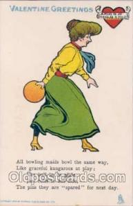 Bowling Postcard Postcards