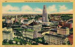 USA Pittsburgh Pennsylvania University Pittsburgh and Carnegie Tech School 03.31