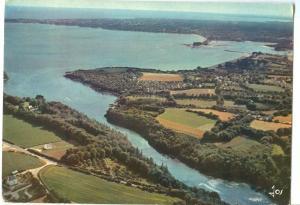 France, La Foret, Fouesnant, L'anse de Saint-Laurent, 1980 used Postcard