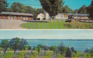 Maine Lincolnville Beach Snow Hill Motel 1972
