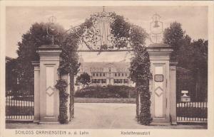 Germany Diez Schloss Oranienstein Kadettenanstalt