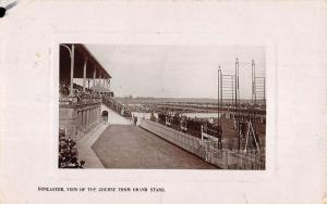 Doncaster England UK Course From Grand Stand Real Photo Antique Postcard K97046