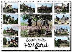 Modern Postcard Souvenir Du Perigord