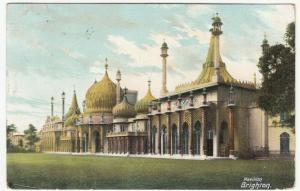 Sussex; Pavilion, Brighton PPC By BR, 1904 PMK, To L Simmons, Watford