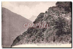 Old Postcard Luchon Superbagneres The path of Superbagneres Rayin Iron and tu...