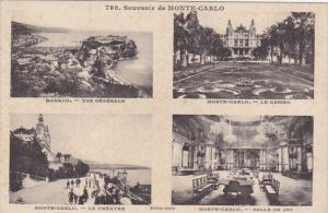 Monaco Vue Generale Casino Le Theatre & Salle de Jeu