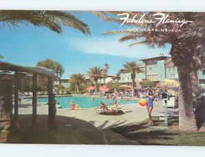 Unused Pre-1980 FLAMINGO CASINO HOTEL Las Vegas Nevada NV Q5432-18