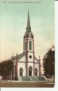 Marysville,California, St. Josephs' Church