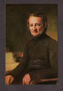 Jean Marie Robert de la Mennais Founder Brothers Christian Instruction Postcard
