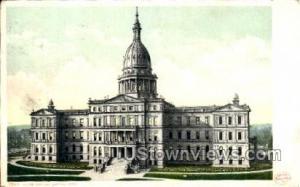 State Capitol Lansing MI 1901