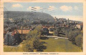 McGill University Montreal 1936