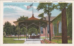 Tennessee Jackson Electro-Chalybeate Artesian Well Lancaster Park 1936