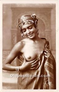 Jeune Mauresque Arab Nude Postcard Bautes Arabes Unused