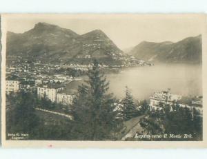 old rppc NICE VIEW Lugano - Ticino Switzerland i2122