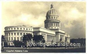 Habana Republic of Cuba Capitol  Capitol