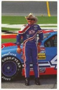 Race car Driver, Ricahard Petty, #43, NASCAR, 1992