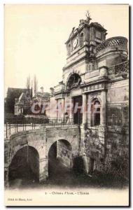 Old Postcard Chateau D & # 39Anet L & # 39Entree