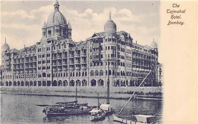 The Tajmahal Hotel, Bombay, India c1910s Vintage Postcard