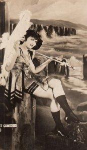 RP: Sennett Bathing Beauties , Pin-up Girl , 1910-20s ; #11