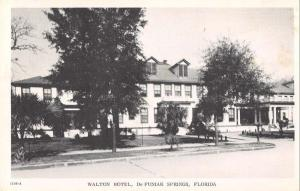 De Funiak Springs Florida Walton Hotel vintage pc Z12214