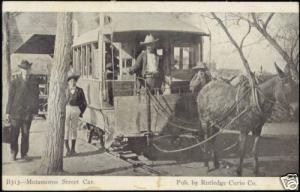 mexico, MATAMOROS, Street Car, Horse Tram (1910s)