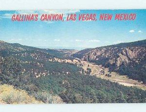 Pre-1980 GALLINA'S CANYON Las Vegas New Mexico NM AD3608@