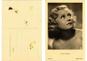 CPA AK Lilian Harvey - Ross Verlag foto 7031/2 FILM STAR (556506)