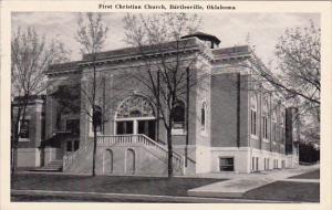 Oklahoma Bartlesville First Christian Church 1943