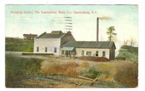 Pumping Station, The Spartanburg Water Co., Spartanburg, South Carolina, PU-1909