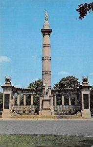 Jefferson Davis monument Richmond, Virginia, USA Civil War Unused