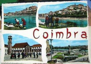 Portugal Coimbra Alguns aspectos da Cidade - posted 1966
