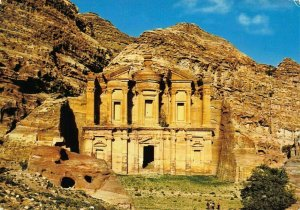 Jordan View of Eddeer at Petra Postcard