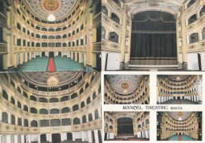 Malta Manqel National Theatre 4x Postcard s