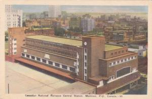 Central Station Canadian National Railways - Montreal QC Quebec Canada - pm 1923