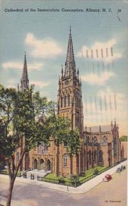 New York Albany Cathedral Of The Immaculate Conception 1966